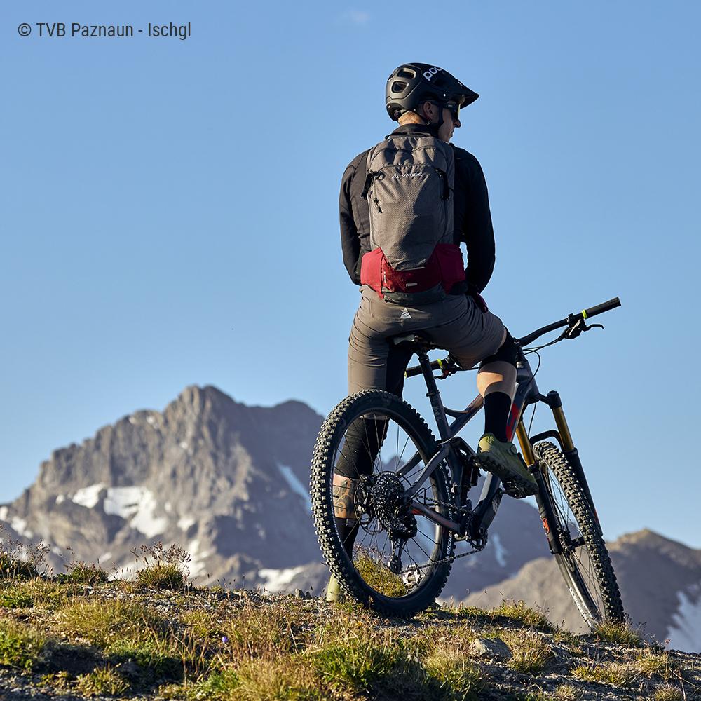 MTB Trail Idalpe - Ischgl am 28.7.20